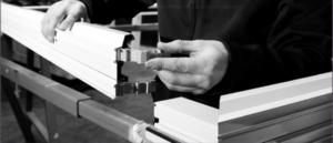 Manufacturing process of bifold doors 4